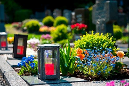 Цветник на могилу